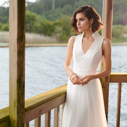 لباس عروس جدید ساده و شیک 2019