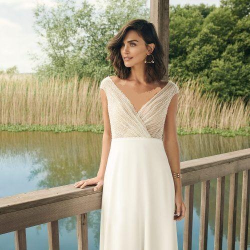 لباس عروس جدید، ساده و شیک
