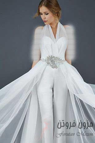 لباس عروس با شلوار