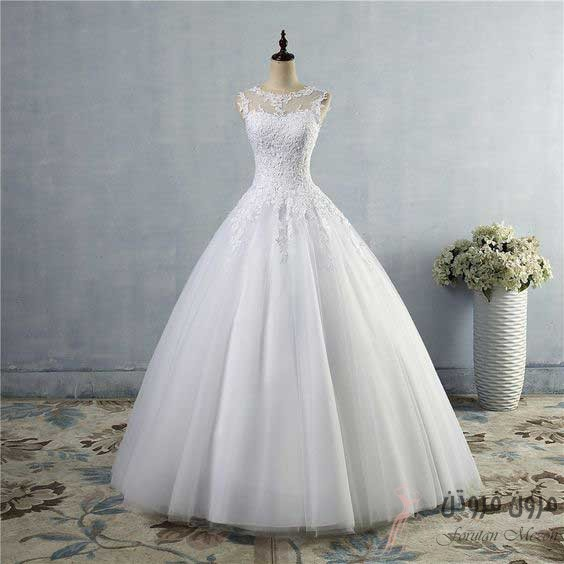 لباس عروس مدل دانتل