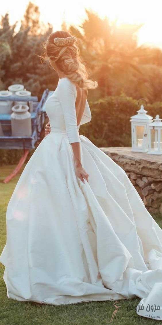 لباس عروس لایه ای