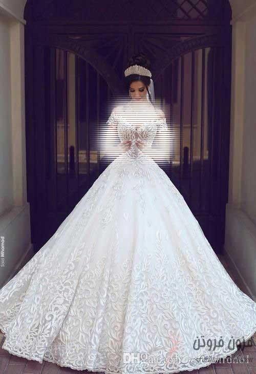 لباس عروس مدل پرنسسی