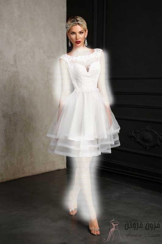 لباس عروس کوتاه