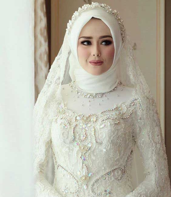 لباس عروس اسلامی و پوشیده