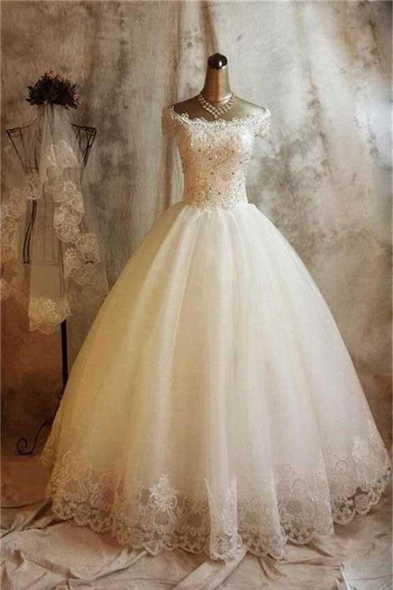 لباس عروس پفی اینستاگرام