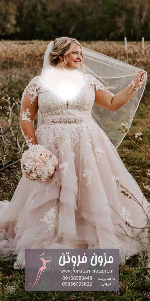 لباس عروس سایز بزرگ