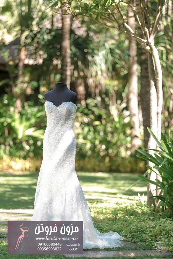 لباس عروس عروسکی
