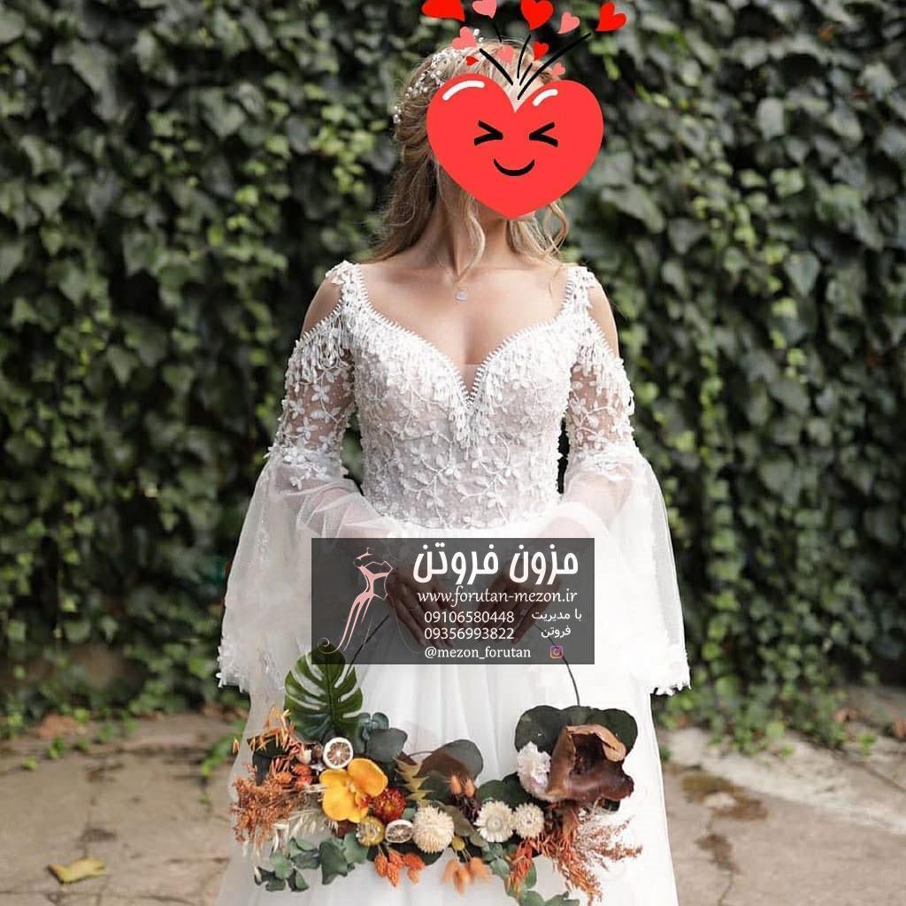 خرید لباس عروس از مزون فروتن